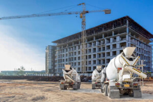 What is the difference between ready mix concrete and cement?